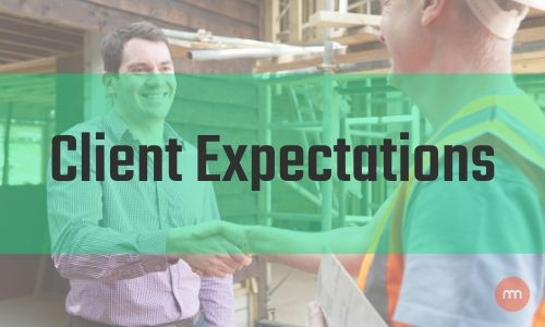 Client Expectation - Two man shaking hands